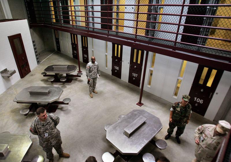 關達那摩灣(Guantanamo Bay)的美國海軍基地(美聯社)。