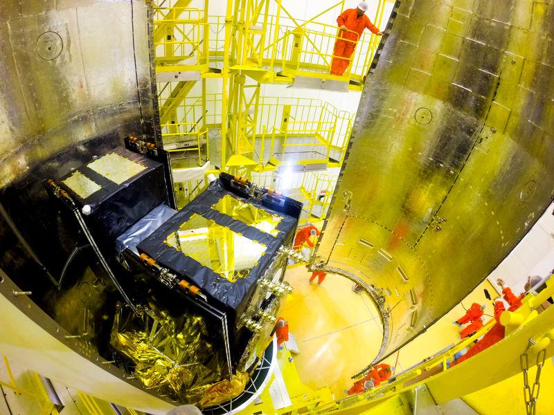 伽利略的衛星由家族企議OHB製造,該企業因此聲名大噪。(圖片來源:ESA)