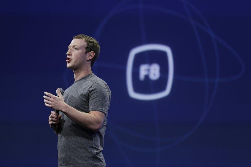 Facebook創辦人祖克伯(Mark Zuckerberg)說,將開發新按鍵與「讚」並行。(美聯社)