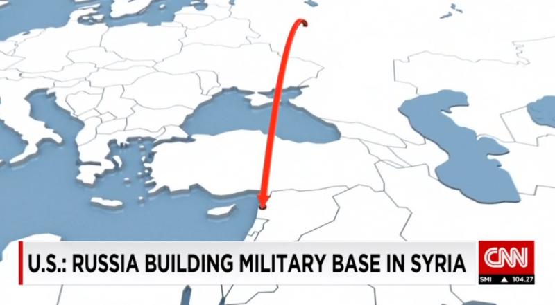 BBC認為俄軍正在試圖鞏固進入中東與地中海的重要據點。(翻攝CNN)