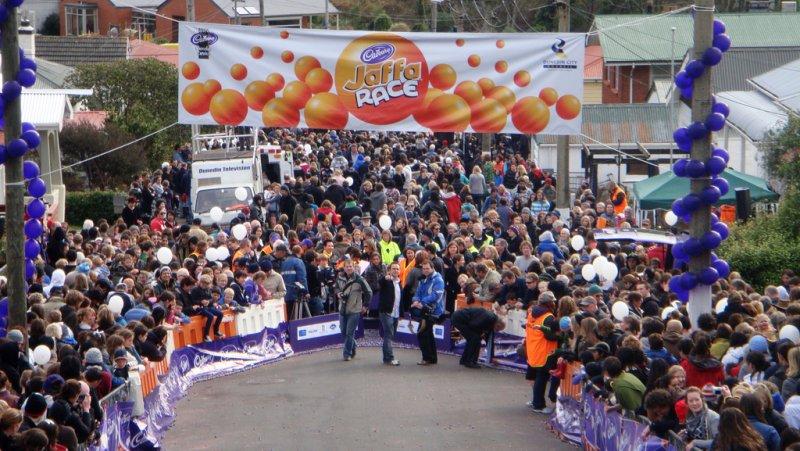 競跑比賽「鮑德溫街大挑戰」 圖/ DunedinNZ@flickr
