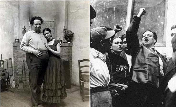 芙烈達說她這輩子只愛三件事:共產黨、狄亞哥和繪畫。