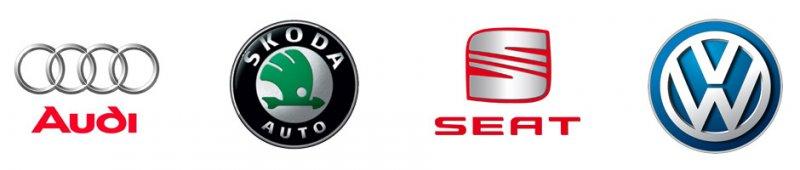 福斯與旗下汽車品牌。