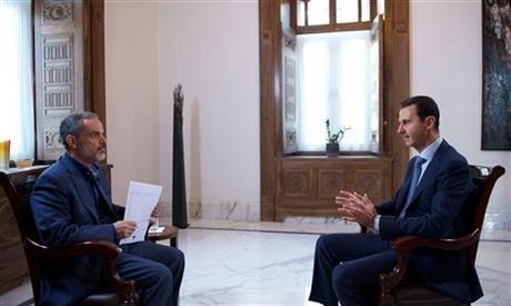 阿塞德在俄國介入敘利亞戰爭後首次發表評論,接受超過一小時長的訪談(美聯社)