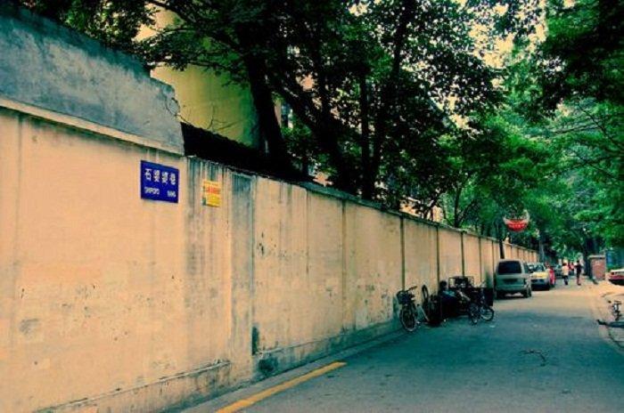 南京丹鳳街石婆婆巷。(作者提供)