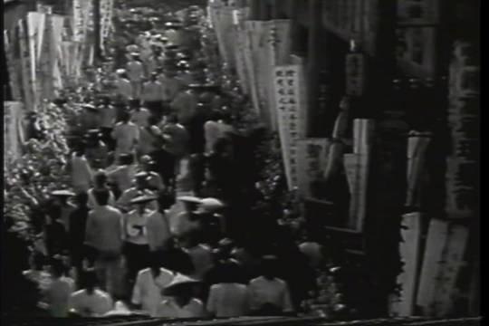 蔣渭水大眾葬。(取自蔣渭水文化基金會網站)