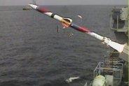 劍二飛彈艦射型試射成功。(取自中科院網站)