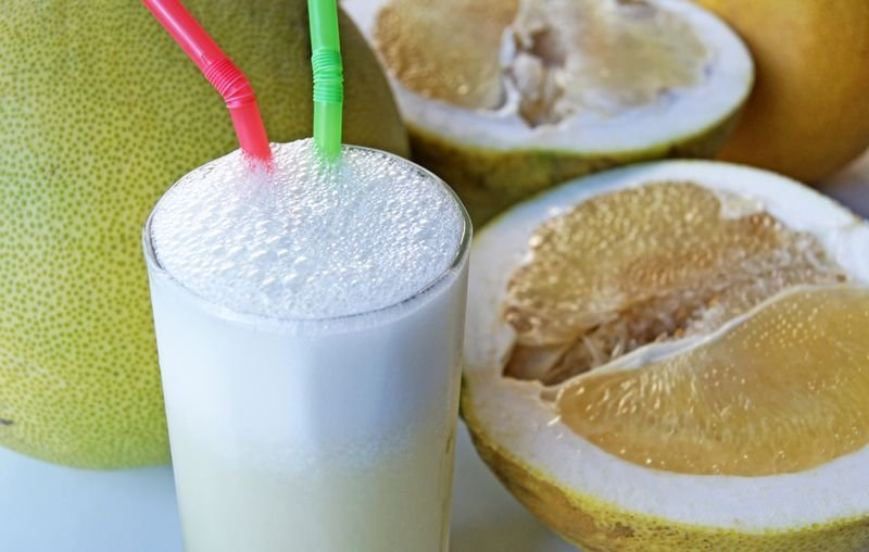 大白柚汁。(王浩一/有鹿文化提供)
