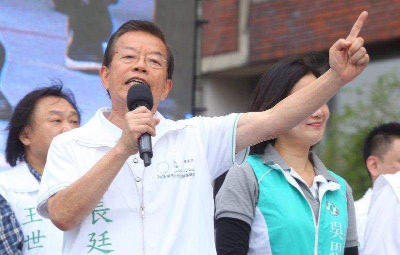 蔡英文全國競選總部10月18日正式成立,謝長廷要讓小英台北市得票過半(蔡耀徵攝)