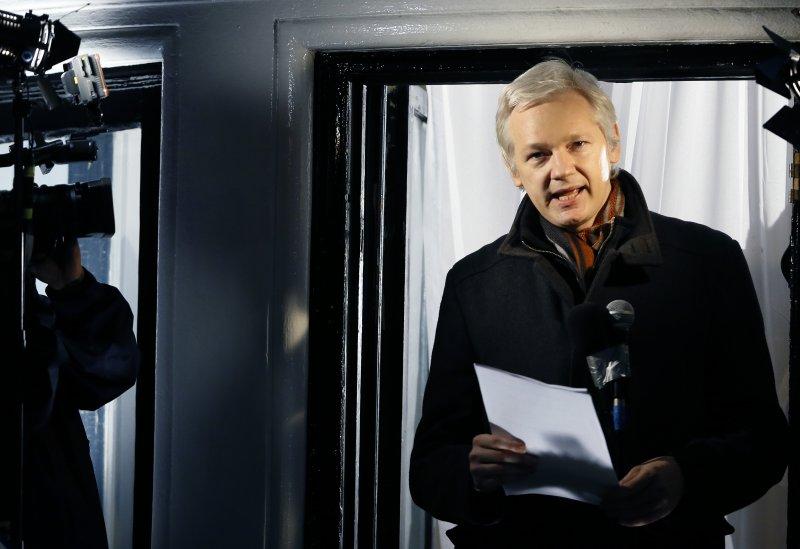 維基解密(WikiLeaks)網站創辦人艾桑吉(Julian Assange)