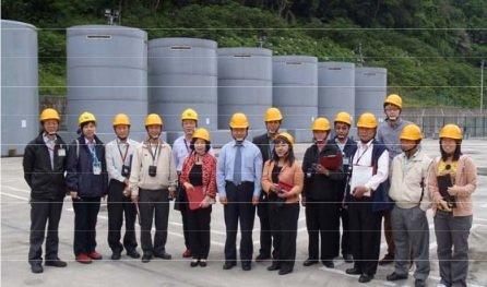 核一廠乾式貯存設施-取自原能會網站