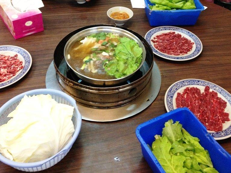 台南阿裕牛肉鍋。