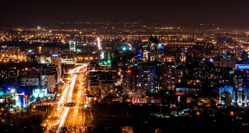 中亞大城阿拉木圖(維基百科)
