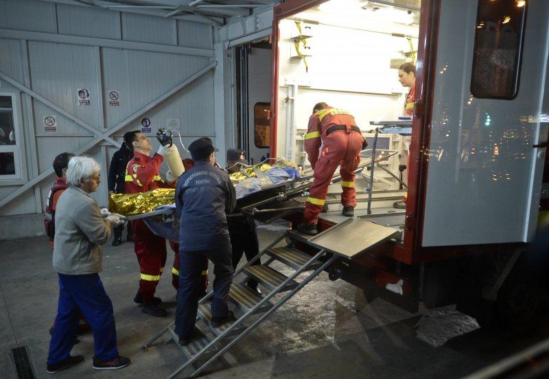 羅馬尼亞首都布加勒斯特市中心一家夜店「Colectiv」30日深夜發生爆炸(美聯社)