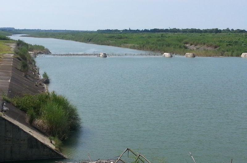 曾文溪玉峰攔河堰,一旦解編,開發將提高河川汙染風險。(朱淑娟攝)