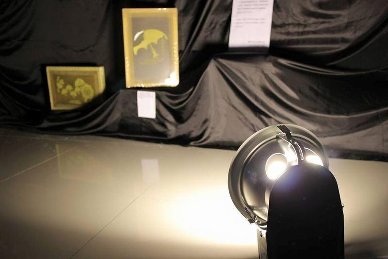 光明磊落革博物館展品。(來源Kin Chung Yip/香港社會工作者總工會臉書)