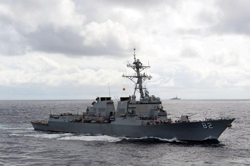 美國海軍飛彈驅逐艦「拉森號」(USS Lassen)(美國海軍)