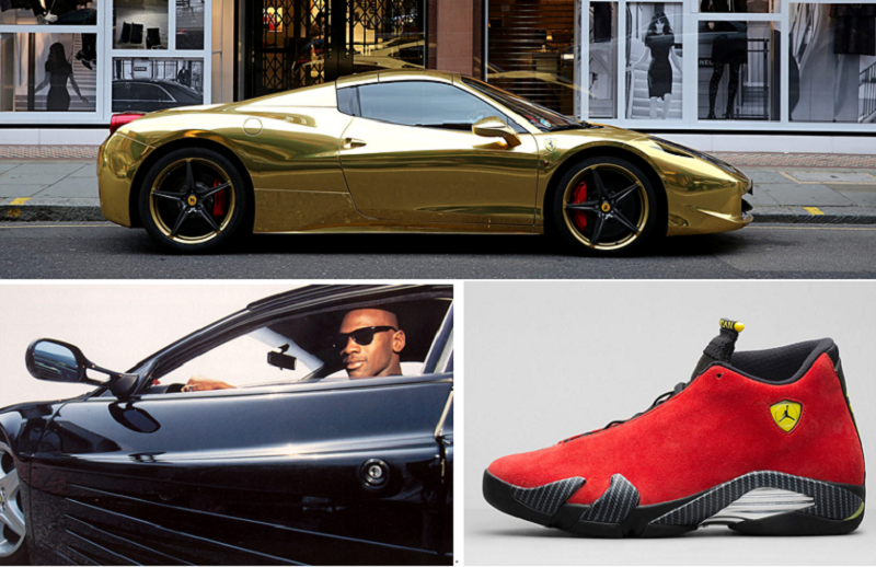 買不起名車,一雙鞋總可以的。(作者提供)
