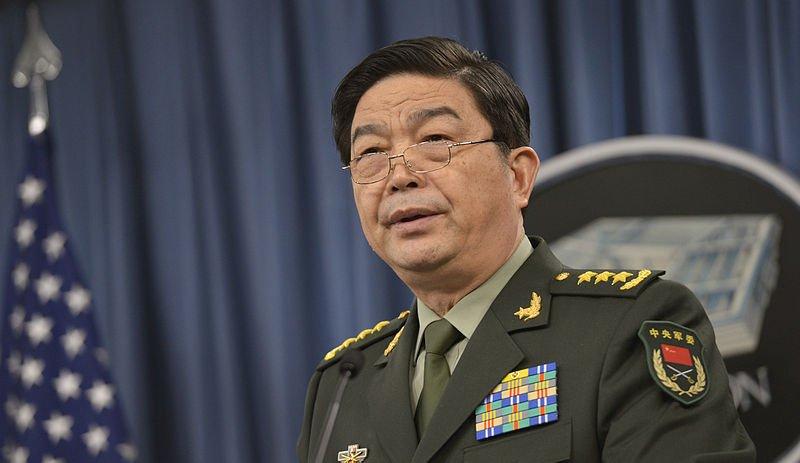 中國國防部長常萬全。(取自維基百科)
