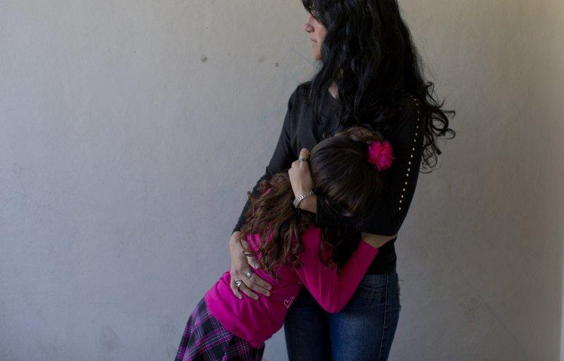 盧亞娜和媽媽(美聯社)