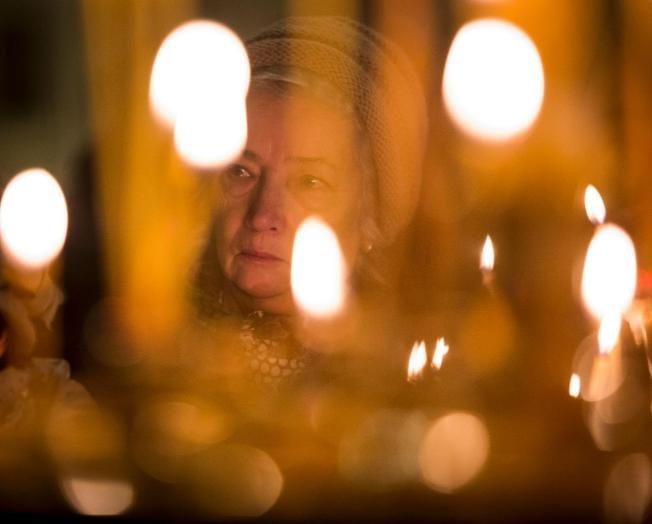 聖以薩大教堂內為空難者舉行全國哀悼日(取自美聯社)