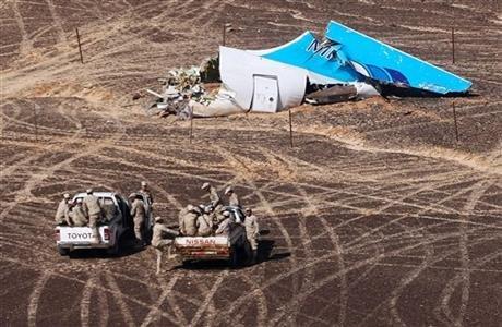 俄羅斯客機失事殘骸發現(取自美聯社)