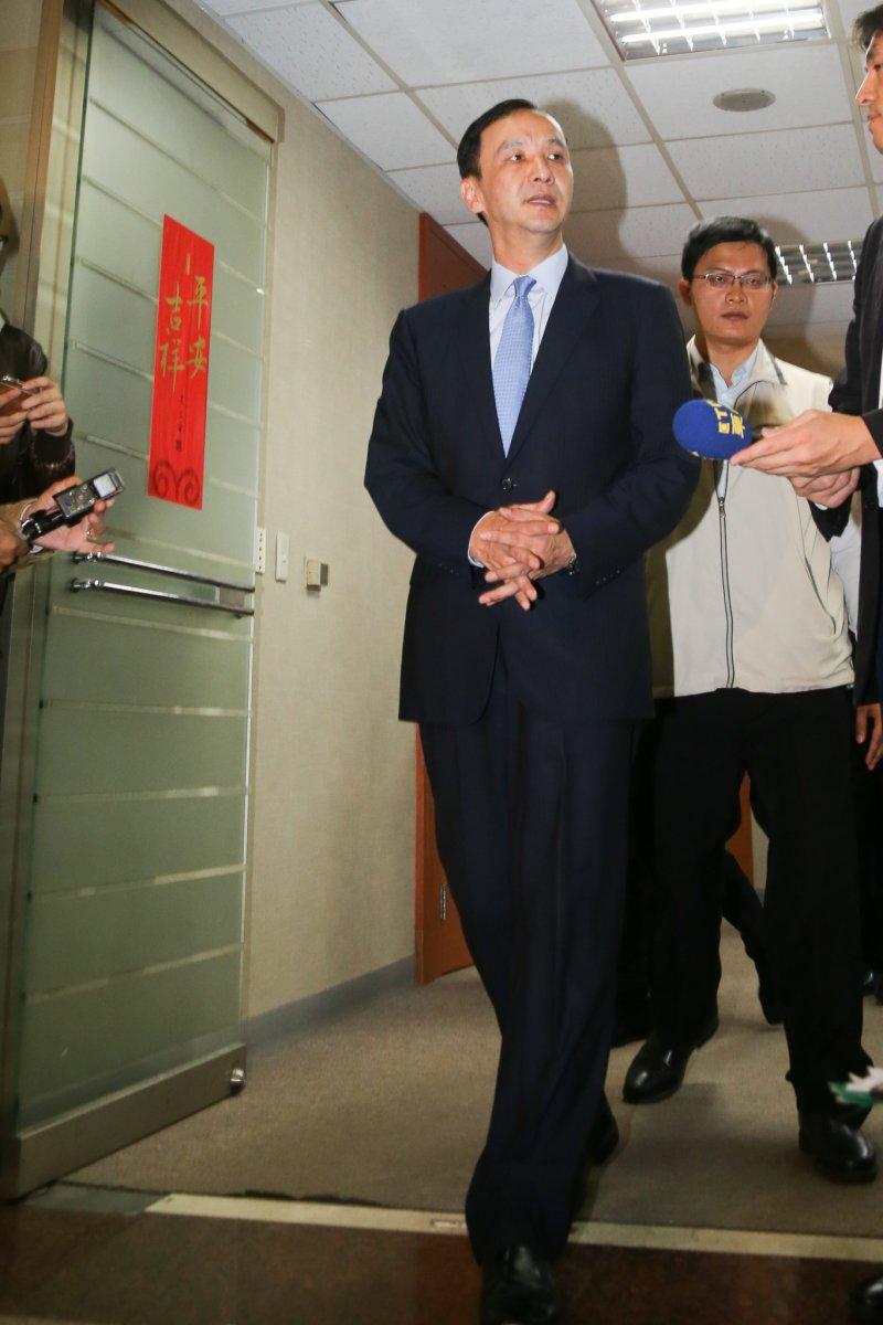 20151110-國民黨總統參選人.國民黨主席朱立倫(陳明仁攝)