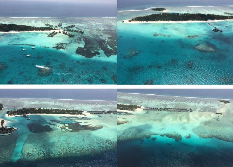 馬爾地夫絕美島礁。