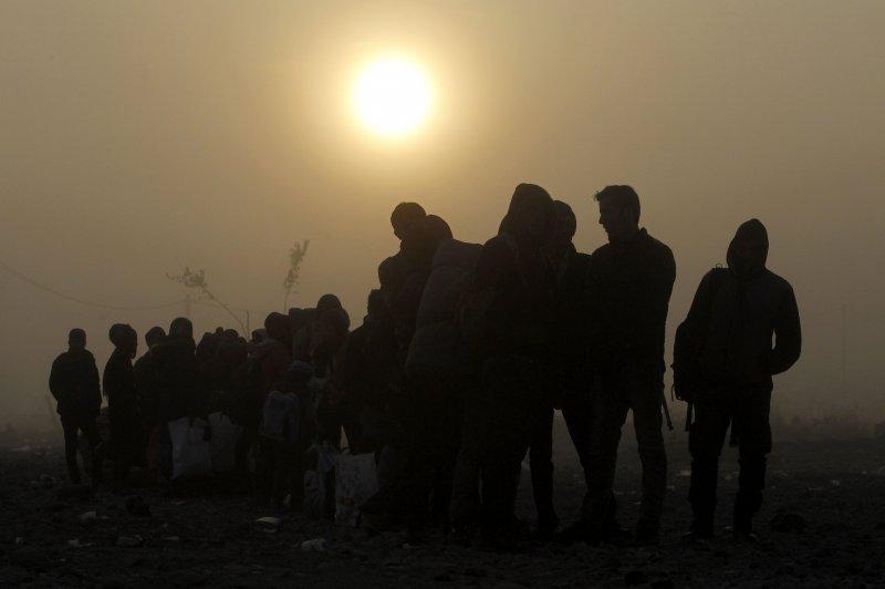 敘利亞難民的移動已成為各國頭痛的問題。(美聯社)