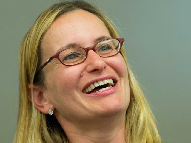 傑克‧雷塞思(Jackie Reses)過去在雅虎負責併購及人力資源管理。(取自騰訊科技網頁)