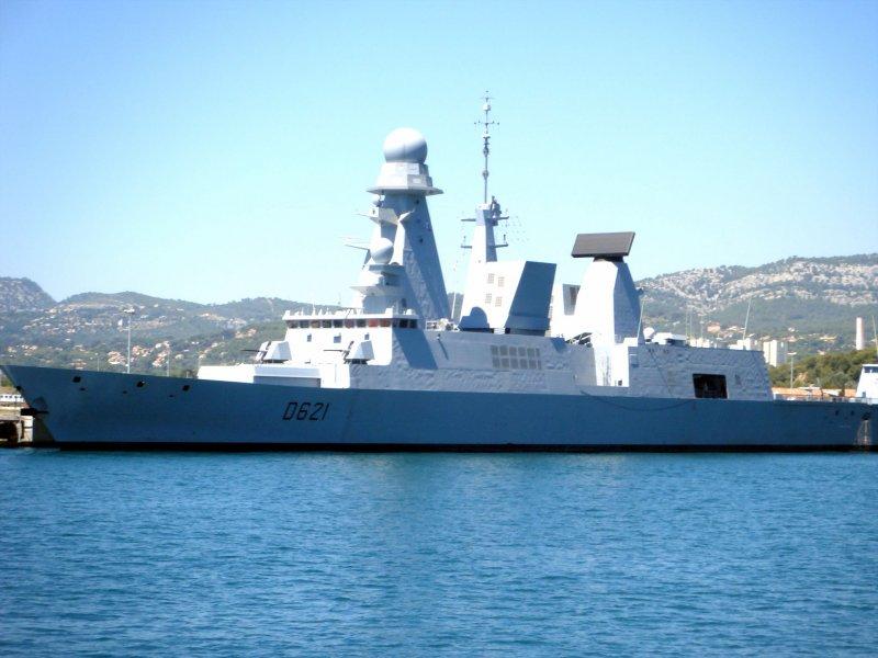 法國地平線級Chevalier Paul驅逐艦。(維基百科)