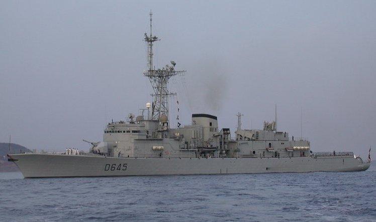 法國喬治萊格級La Motte Picquet反潛護衛艦。(維基百科)
