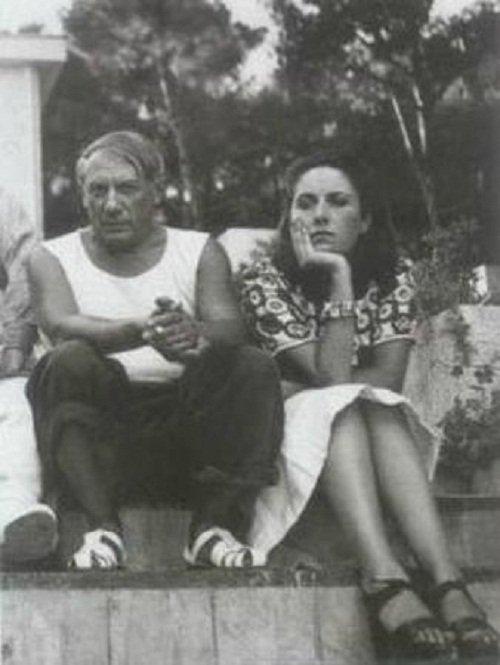 畢卡索和朵拉在巴黎。(來源:畢卡索博物館官網)