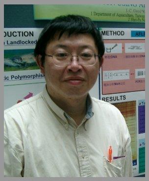 鮭魚研究權威郭金泉教授並不樂見基因改造鮭魚的通過(取自台灣國立海洋大學低溫生物與遺傳育種實驗室網頁).jpg