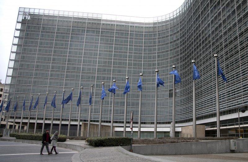 位於布魯塞爾的歐盟總部(美聯社)
