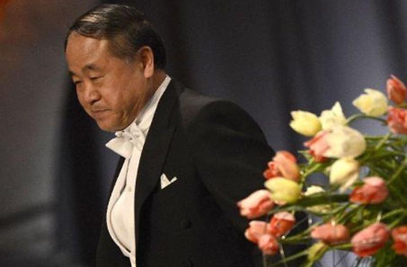 2012年諾貝爾文學獎得主莫言。(作者提供)