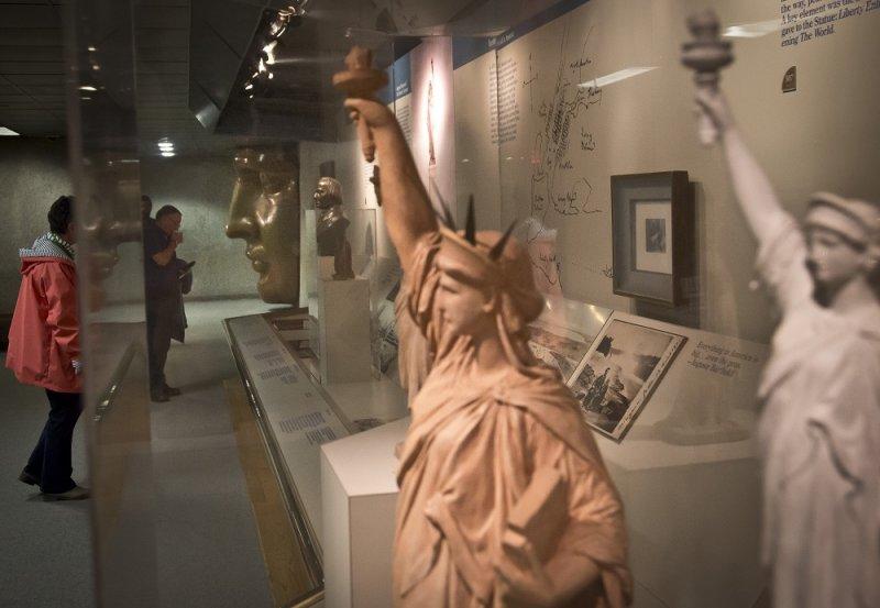 美國自由女神博物館(美聯社)
