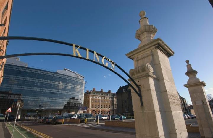 英國國王學院醫院一名病患決定不接受洗腎治療(KCH Facebook)