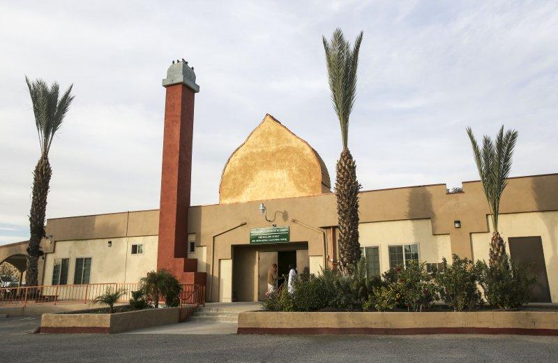 位於聖伯納迪諾(San Bernardino)的清真寺(美聯社)