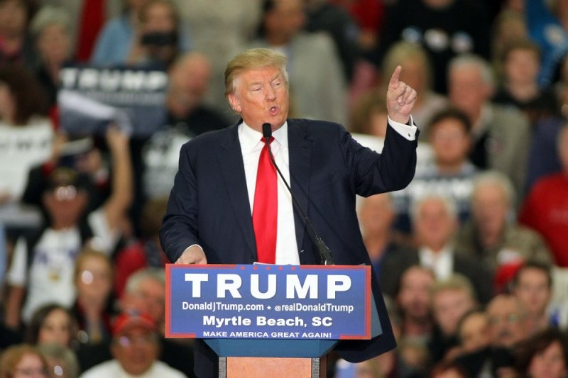 美國共和黨總統參選人川普(美聯社)