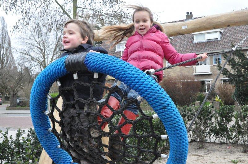 荷蘭小孩戶外活動