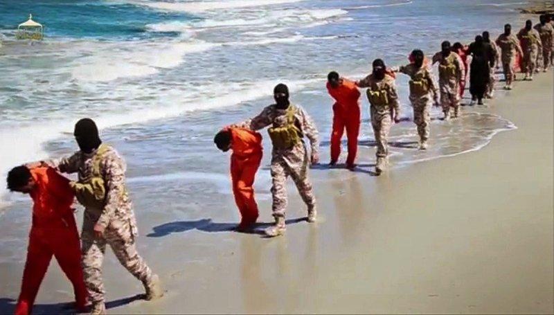 IS在利比亞沿海押解人質(美聯社)