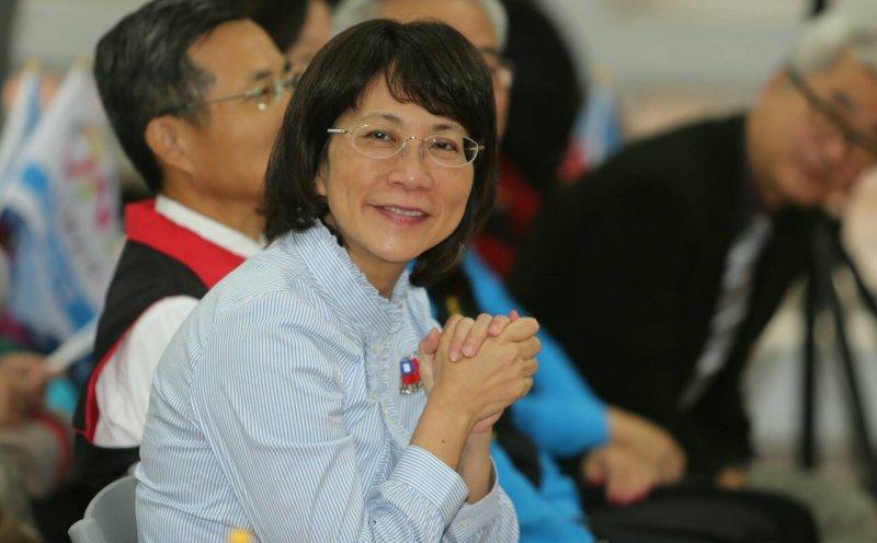 國民黨副總統候選人王如玄12月12日出席「朱立倫、蔣乃辛婦女後援會」成立大會(陳明仁攝)