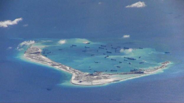 美稱今年12月不會再有到南海的巡航任務。或將於明年一月進行。 (BBC中文網)