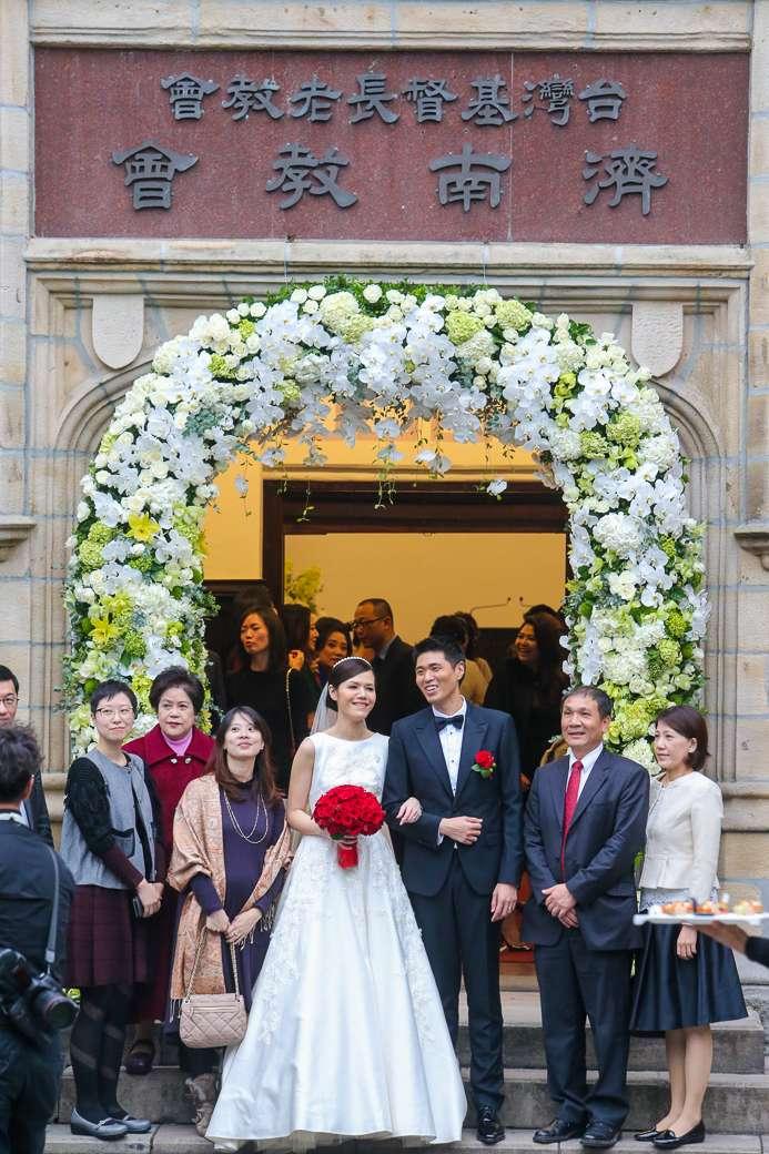 20151215-李登輝孫女李坤儀教會婚禮(陳明仁攝)