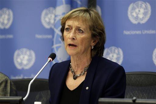 加拿大最高法院前法官瑪麗德尚為終非更合國兒童性侵案獨立調查小組負責人(取自美聯社)