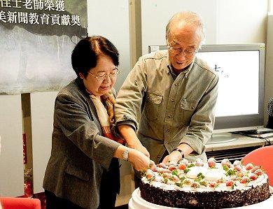新聞傳播學界資深教授、政治大學新聞系退休教授徐佳士23日辭世,享壽95歲。翁秀琪。(取自政治大學網頁)