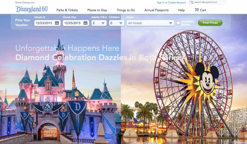 美國加州迪士尼樂園。