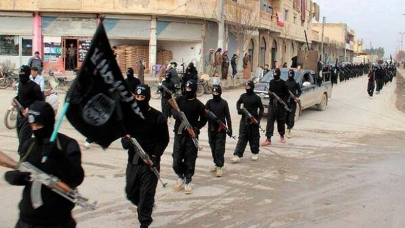 2015年全球最猖狂的恐怖組織「伊斯蘭國」(美聯社)