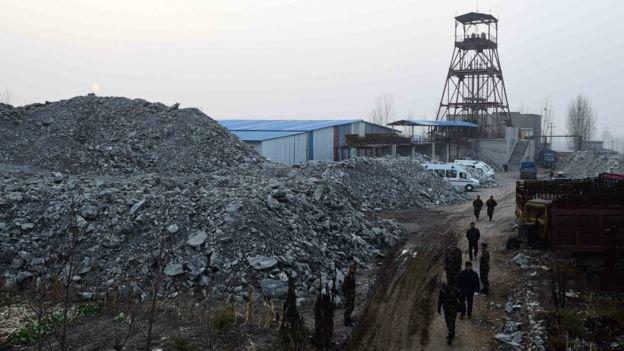 文件顯示最先發生坍塌的廢棄礦井早已被列為危險礦井。(BBC中文網)